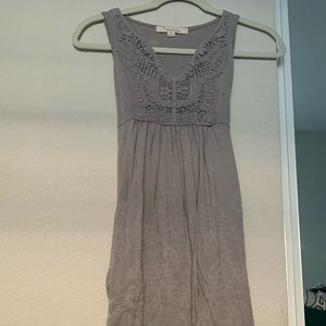 Forever 21 light grey tunic top